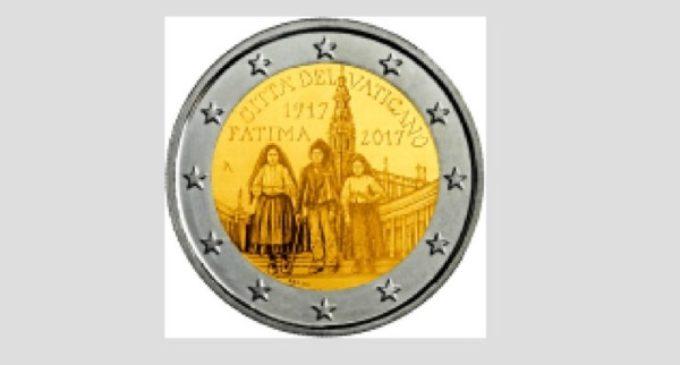 Vaticano: una moneda conmemorativa de dos euros en el centenario de Fátima