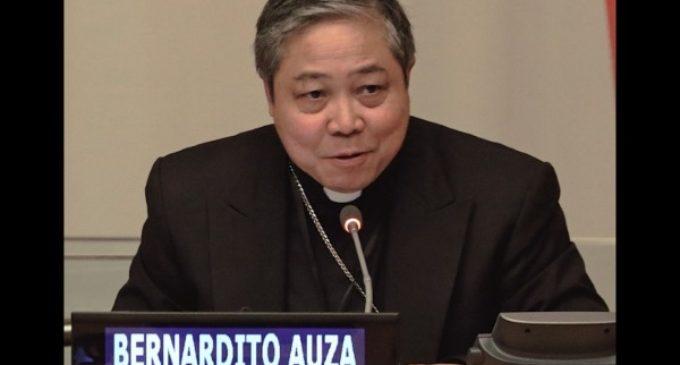 "Monseñor Auza: ""Mujeres, agentes de paz pero discriminadas"""