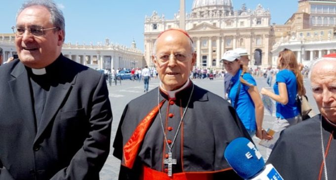 El Santo Padre recibe a la presidencia de la Conferencia Episcopal Española