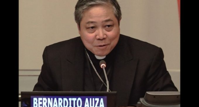 """Monseñor Auza: """"El desarrollo social real debe centrarse integralmente en las personas"""""""
