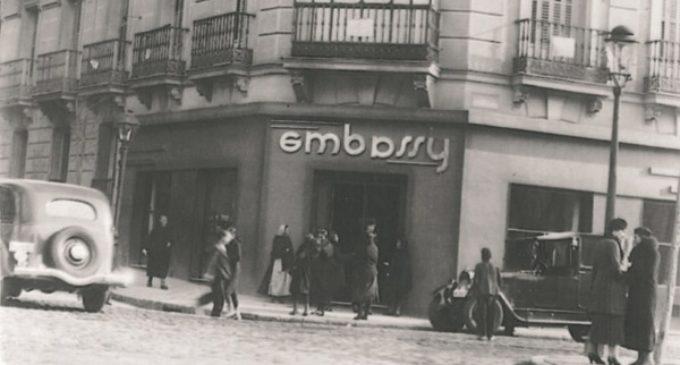 La fundadora de Embassy utilizó el madrileño salón de té como tapadera