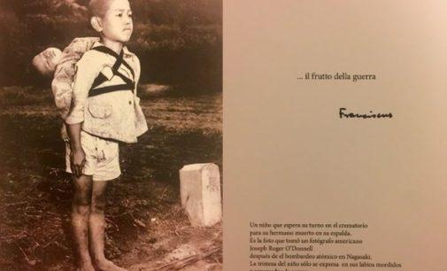 La foto del Papa para tomar conciencia del dolor de la guerra