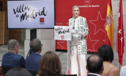 Cifuentes aumenta hasta once las Villas de Madrid para fomentar el turismo en pequeños municipios