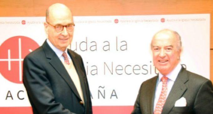 Antonio Sáinz de Vicuña, nuevo presidente de Ayuda a la Iglesia Necesitada