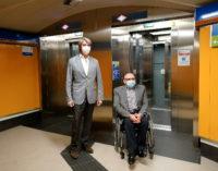 Mejora la accesibilidad de Metro Madrid con  nuevos ascensores en las estaciones de Bilbao y Plaza Elíptica
