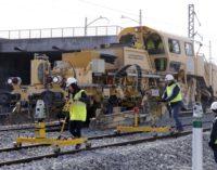 Rollán y De la Serna supervisan el avance de las obras del nuevo acceso sur de la Alta Velocidad de Madrid