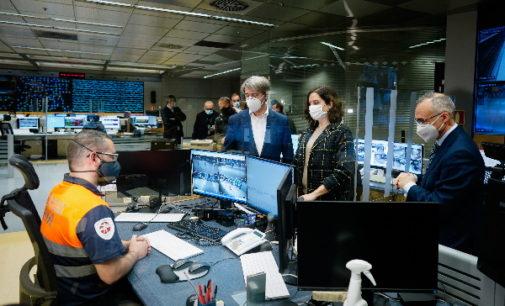 Díaz Ayuso supervisa el operativo de Metro de Madrid en Nochevieja y Año Nuevo