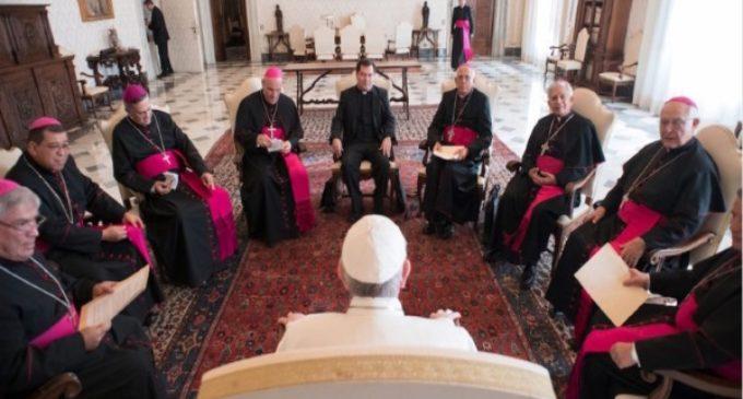 Francisco envía su bendición al pueblo costarricense