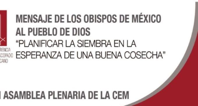 Obispos mexicanos anuncian el Proyecto global pastoral 'Agenda 2031'