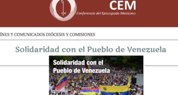 El Episcopado de México inicia una colecta para ayudar al pueblo venezolano agobiado por la crisis