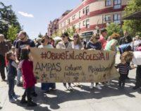 I  Marcha de los Colegios Públicos de Majadahonda para reclamar obras en los coles ya