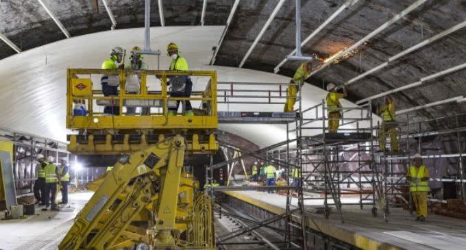 La Comunidad ya ha realizado el 40 por ciento de las obras de reforma de la Línea 5 de Metro