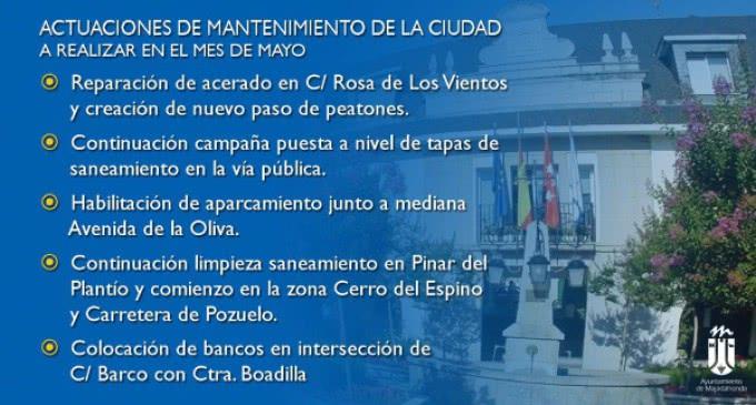 El Ayuntamiento de Majadahonda habilitará en mayo el aparcamiento en la mediana de la Avenida de La Oliva