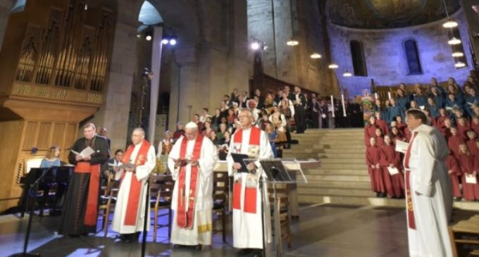 Francisco recuerda que la intención de Lutero era renovar la Iglesia, no dividirla