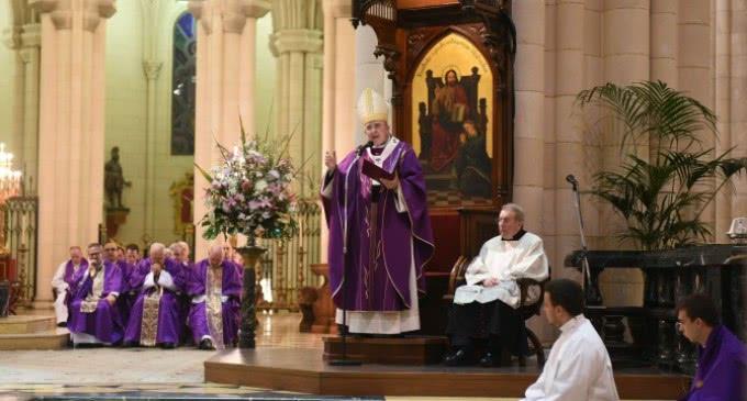 Monseñor Osoro, Arzobispo de Madrid: «Las religiones jamás deben convertirse en vínculo de odio, sino de paz»