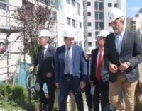 """Pérez: """"la UVA de Hortaleza es un ejemplo modélico de realojo y recuperación urbanística"""""""
