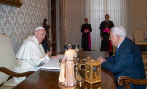 Palestina: El Papa y el Presidente Abbas acuerdan preservar la identidad de Jerusalén