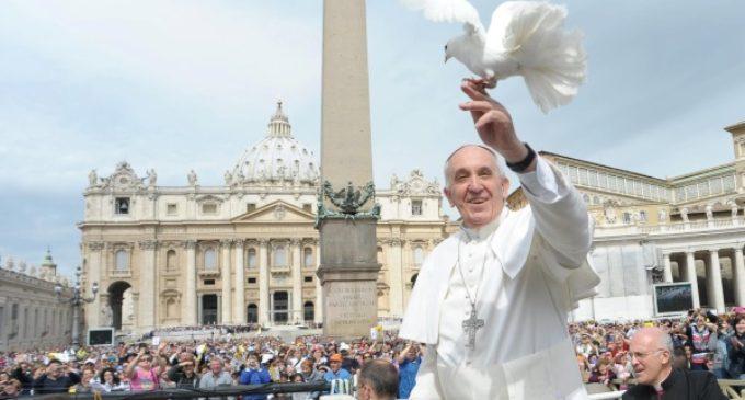 Mensaje del Papa por la Jornada Mundial de la Paz 2017