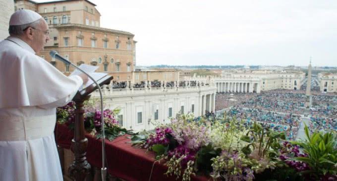 Mensaje Pascual del Papa Francisco y bendición urbi et orbi 2016