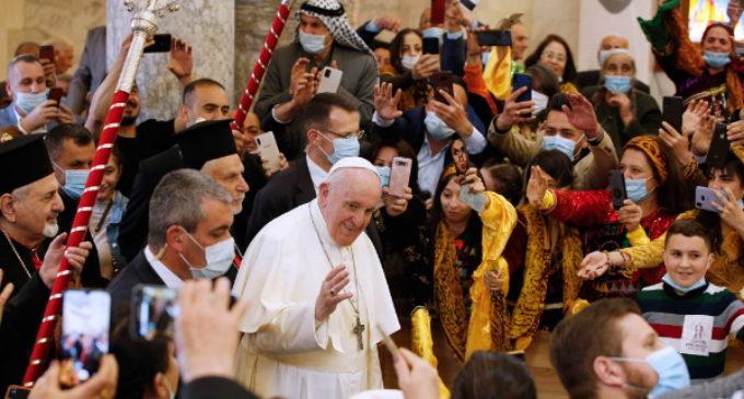 El Papa en Irak: «Es momento de reconstruir»