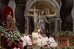 Papa-Francisco-en-la-celebración-de-la-Solemnidad-de-María-Santísima-Madre-de-Dios