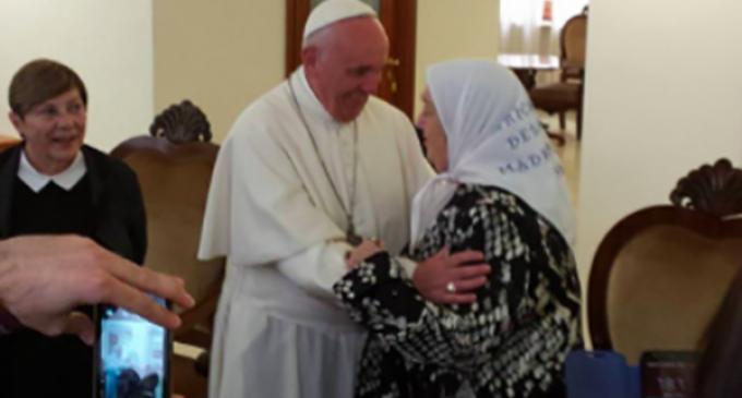 La entrevista del Papa con Hebe de Bonafini, fundadora de las Madres de la Plaza de Mayo, duró más de una hora