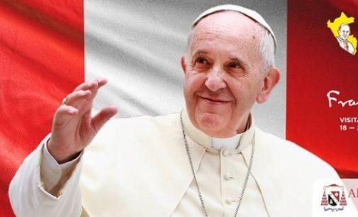 """Viaje a Perú del Papa: """"Trabajar por la unidad"""""""