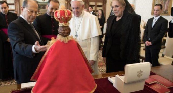 El Santo Padre recibe al presidente del Líbano, país modelo de coexistencia religiosa