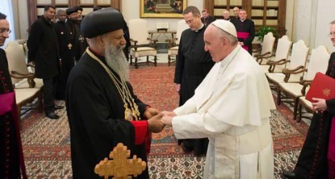 Encuentro con el Patriarca de la Iglesia Ortodoxa Tewahedo de Etiopía: Un nuevo tiempo de amistad fraternal