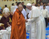 Myanmar: El Papa se encuentra con el Consejo budista 'Sagha'