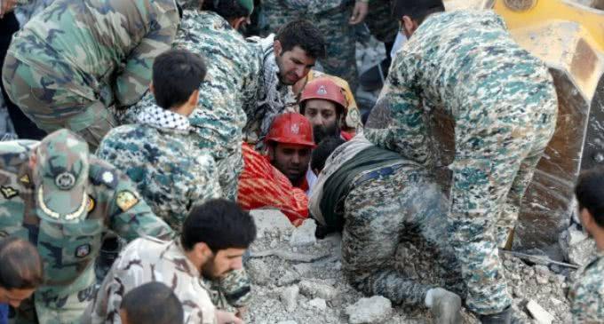 El Papa expresa su «profunda tristeza» por el terremoto en Irán e Irak