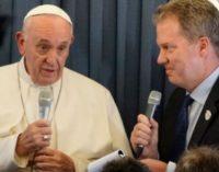 Rueda de prensa del Papa Francisco en el vuelo de regreso de Irlanda