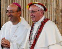 Monseñor David Martínez de Aguirre, vicario apostólico de Puerto Maldonado: «Al Papa le impresionó ver diáconos indígenas»