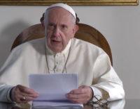 El Papa pide en la ONU «verdadera voluntad política» para atajar la crisis climática