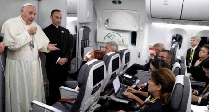 El Papa, a Trump sobre los dreamers: «Si es provida, que defienda la unidad de la familia»