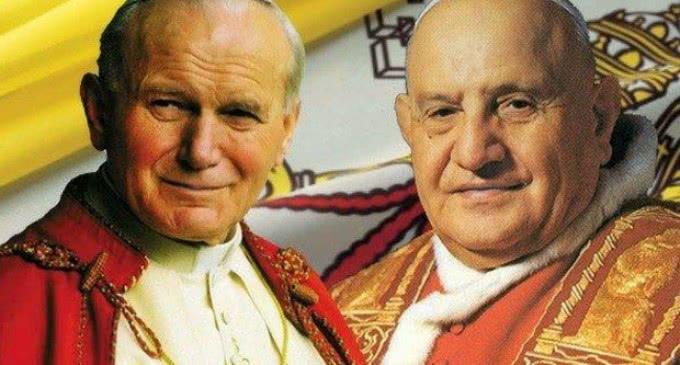 Juan XXIII y Juan Pablo II ya están en el libro de los santos