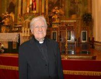 Monseñor Colino, maestro de capilla emérito de la basílica de San Pedro del Vaticano