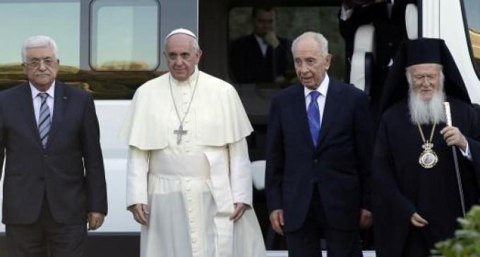 El Papa Francisco  y los presidentes de Israel y Palestina invocan la paz