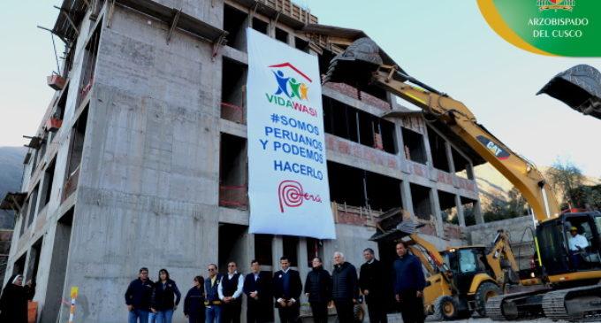 Perú: Bendición del primer hospital de cáncer infantil de Sudamérica