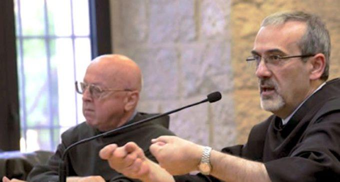 El Papa nombra a P. Pizzaballa administrado apostólico del Patriarcado de Jerusalén
