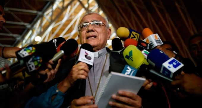 El cardenal Porras, administrador apostólico de Caracas, defiende la desobediencia civil ante toda orden que atente contra la vida