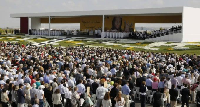 El delegado del Papa, Angelo Amato, presidió la beatificación de Álvaro del Portillo