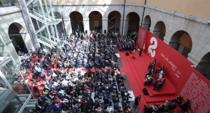 Discurso de la Presidenta de la Comunidad de Madrid Cristina Cifuentes en el homenaje del 2 de mayo