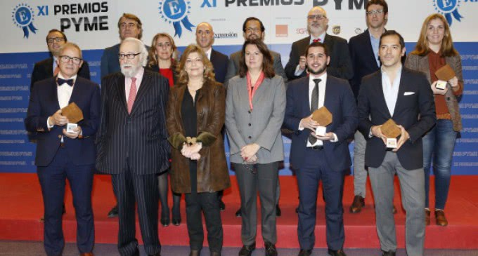 Engracia Hidalgo asiste a la entrega de los XI Premios Pyme  que concede el Diario Expansión