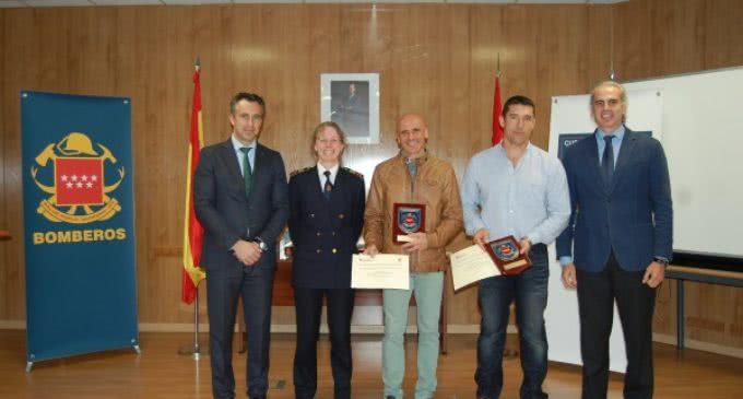 El Cuerpo de Bomberos de la Comunidad de Madrid entrega sus premios anuales