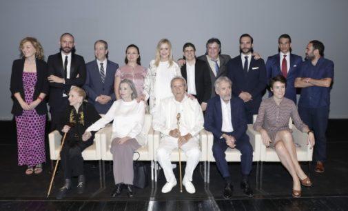 Cifuentes entrega a Jose María Manzanares, Nuria Espert, José Sacristán, Mario Sandoval y María Dolores Pradera los Premios de Cultura