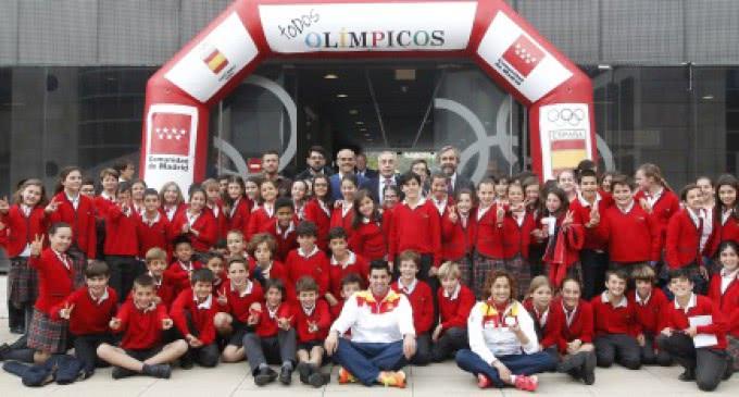 La Comunidad de Madrid impulsa los valores del deporte en los colegios públicos con el programa 'Todos Olímpicos-Fairplay'