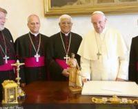 Perú: El Papa recibió a los obispos de la presidencia de la CEP