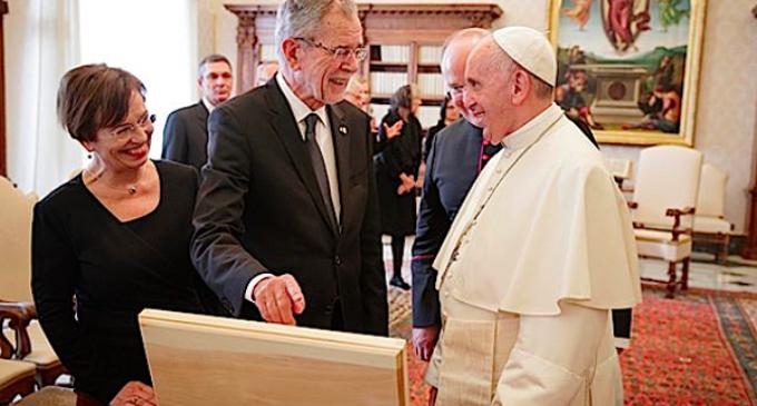 Austria: El Papa ha recibido al presidente Alexander Van der Bellen