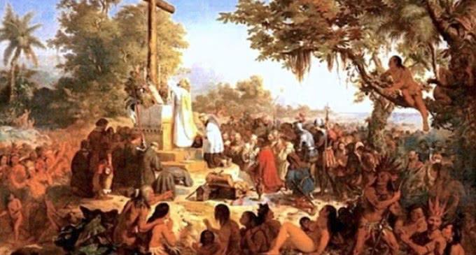 Hace 516 años, el domingo 26 de abril de 1500,  se celebró la primera misa en Brasil